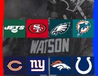 What team should Deshaun Watson go to? (Eliminate Worst Option)